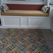 Custom Sunbrella Bench Seat Cushions