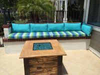 Awesome Patio With Sunbrella Cushions & Pillows