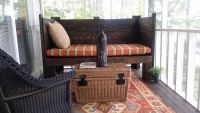 Screened Porch Daybed & Custom Sunbrella Cushion
