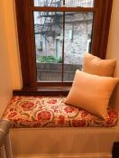 My Relaxing Small Window Seat Cushion & Pillows