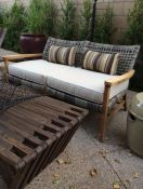 Sunbrella Outdoor Loveseat Cushions & Pillows