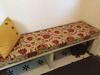 Custom Mud Room Bench Cushion