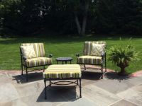 Outdoor Patio Furniture Set & Sunbrella Cushions