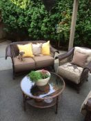 Comfy Deep Seat Wicker Patio Cushions