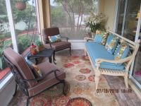 Our Classy Lanai With New Sunbrella Cushions