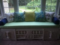 New Custom Window Seat Cushion For Retirement