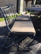 New Iron Furniture Sunbrella Seat Cushions