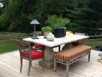 Perfect Sunbrella Cushions For Outdoor Dining Set