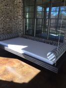 Custom-Size Sunbrella Daybed Cushion & Bolsters