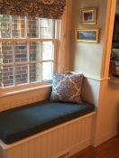 Built-in Window Seat With Sunbrella Cushion