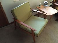 Danish Modern Chair With New Custom Cushions