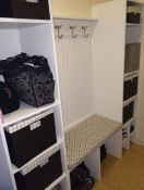 Mudroom Bench With Outdura Fabric