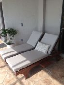 Happy Customer With New Sunbrella Chaise Cushions