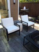 Contemporary Outdoor Seating With New Cushions