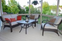 New Wicker Furniture Deep Seating Deck Cushions
