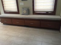 Master Bedroom Bench Seat With Long Cushion