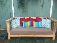 Dreamy Custom Daybed With Sunbrella Cushion