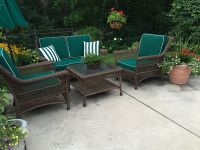 Outdoor Patio Wicker Furniture Cushions