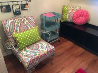 New Paisley Chair Cushions And Pillows