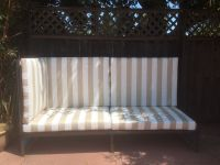 New Sunbrella Cushions For Custom Outdoor Couch