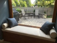 Window Seat Cushions With Matching Pillows