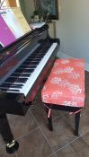 Matching Piano Bench Cushion