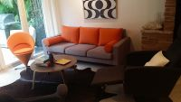 Replacement Orange Back Cushions For Sherman Sofa