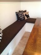 Great Fit For New Custom Banquette Cushions