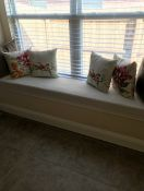 Natural Window Seat Cushion Cover