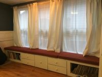 3 Cushions Instead of One Long Window Seat Cushion