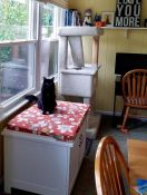 Kitty Loves His New Window Seat Cushion
