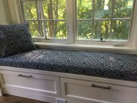 Custom Window Seat Cushion in Scott Living Fabric