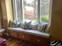 Family Room Window Bench Cushions