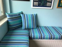 Custom Sunbrella Corner Nook Cushions and Pillows