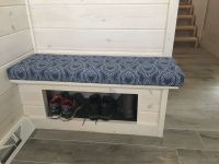 Entry Hall Bench Cushion Made With Premier Prints