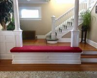 Entrance Bench Cushion Made in Custom Size & Shape