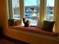 Premier Prints Bay Window Cushion and Pillows