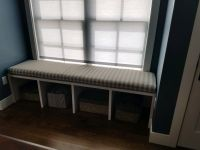 Window Seat Cushion Made With Customer Fabric