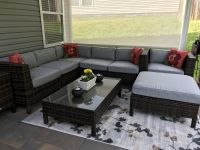 New Sunbrella Patio Cushions