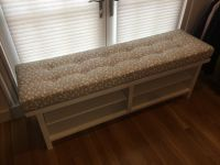 Tufted Window Seat Cushion