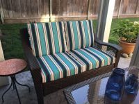 Sunbrella Loveseat Cushions