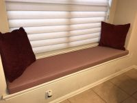 Bay Window Seat Custom Cushion
