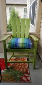 Awesome Patio Chairs with Sunbrella Seat Cushions