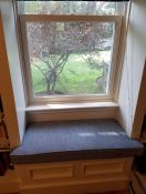 New Window Seat Cushions