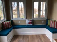 Custom Bench Cushions for Built-in Seating