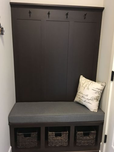Super Mudroom Bench Cushion Customer Photo Inzonedesignstudio Interior Chair Design Inzonedesignstudiocom