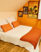 Vibrant Orange Lumbar Pillows