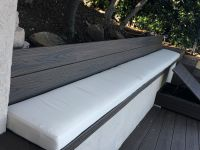 Long Outdoor Bench Cushion