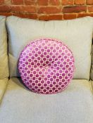 Round Tufted Pillow