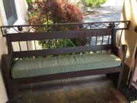 Front Porch Bench Cushion